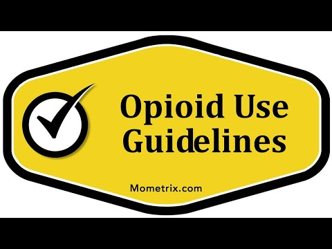 Opioid Use Guidelines