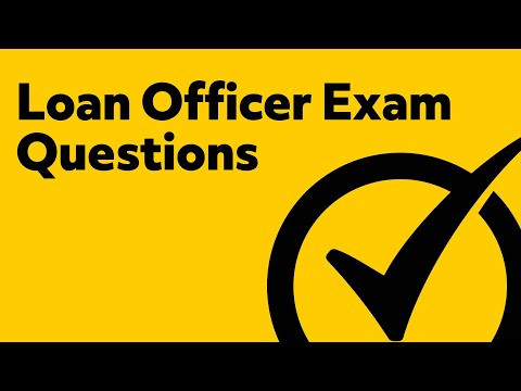 Loan Officer Exam Prep (PRACTICE QUESTIONS)