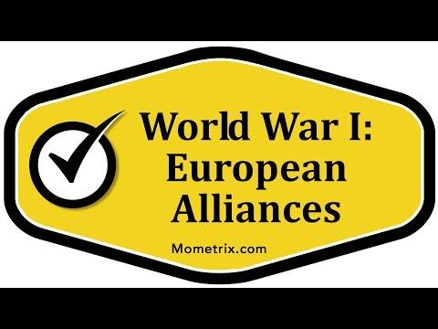 World War I: European Alliance