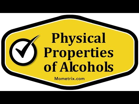 Physical Properties of Alcohols