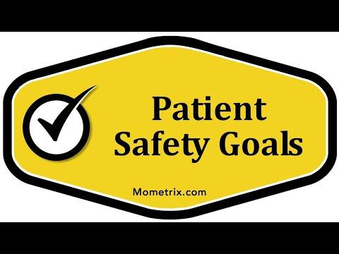 Patient Safety Goals