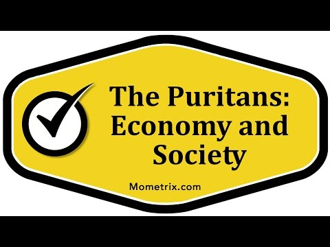 The Puritans: Economy and Society