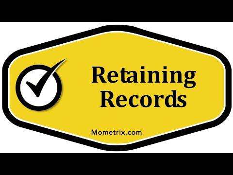 Retaining Records
