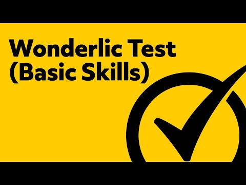 Free Wonderlic Basic Skills Test