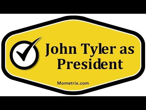 John Tyler as President