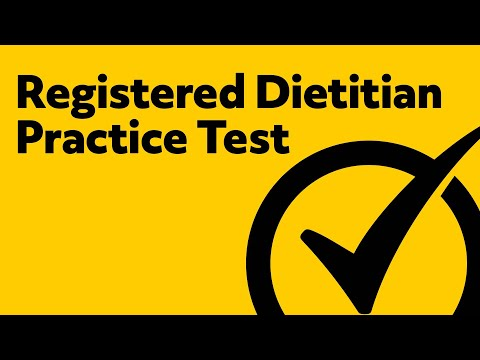 Registered Dietitian Exam Prep