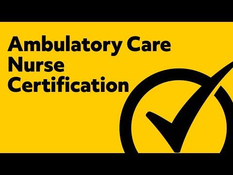 Ambulatory Care Nurse Certification Practice Test