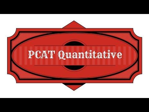 Best PCAT Quantitative Review Study Guide