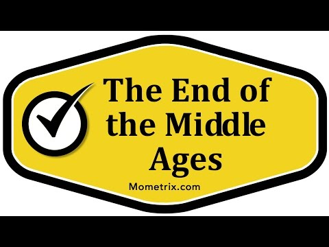 The End of the Middle Ages