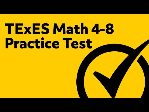 TExES Math 4-8 Practice Questions