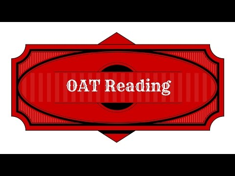 OAT Test Prep - Reading Study Guide