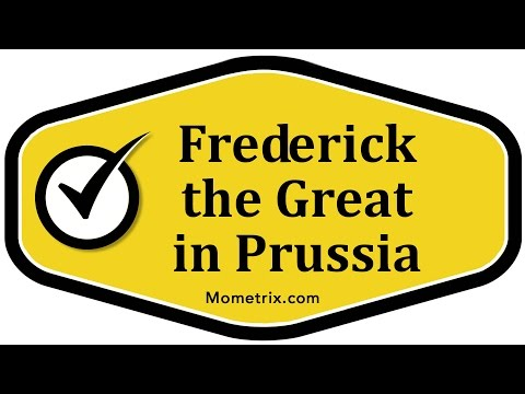 Frederick the Great in Prussia