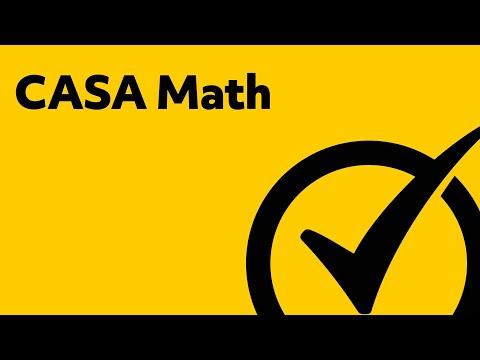 CASA Math (035) Study Guide