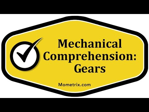 Gears - Mechanical Comprehension