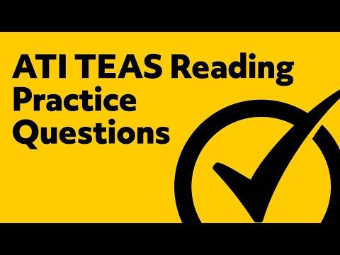 Free TEAS Reading Practice Quiz