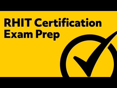 RHIT Certification Exam Prep