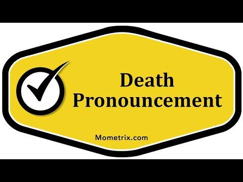Death Pronouncement