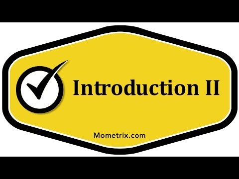 Introduction II