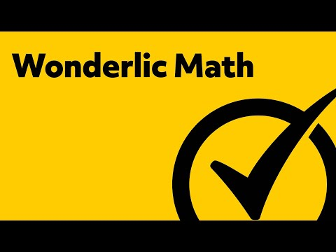 Best Free Wonderlic Math Study Guide