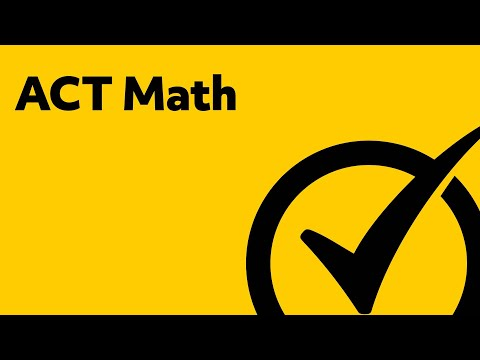 Best ACT Study Guide - Math Prep