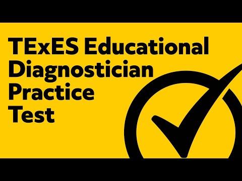 TExES Educational Diagnostician Exam Practice Questions