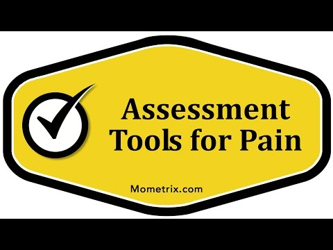 Assessment Tools for Pain