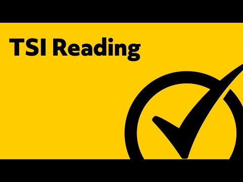 TSI Reading Practice - Study Guide