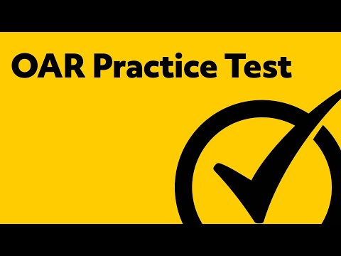 OAR Exam Practice Test