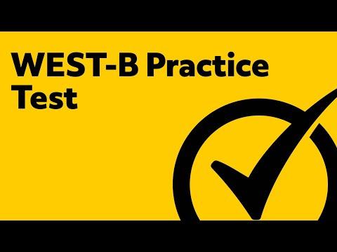 WEST-B Practice Test