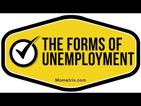 Forms of Unemployment