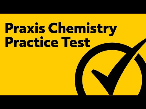 Praxis Chemistry Practice Test
