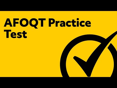 Free AFOQT Practice Test