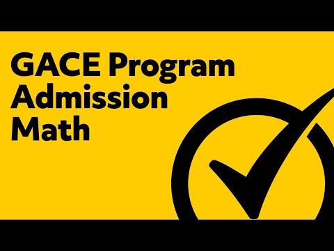 Free GACE Program Admission Mathematics Practice Quiz (201)