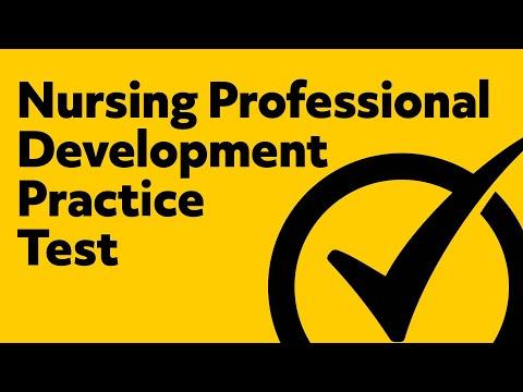 Nursing Professional Development Certification Practice Questions