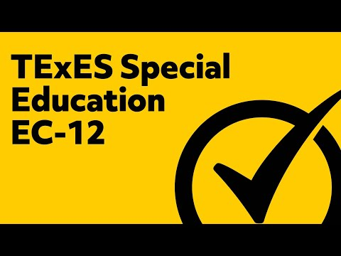 Free TExES Special Education EC-12 Practice Test (161)