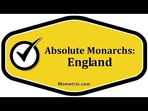 Absolute Monarchs - England