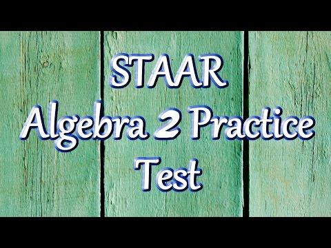 Free STAAR Algebra 2 Practice Test