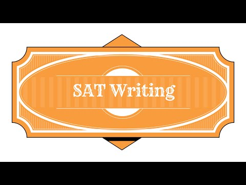 Great SAT Writing Tips Study Guide