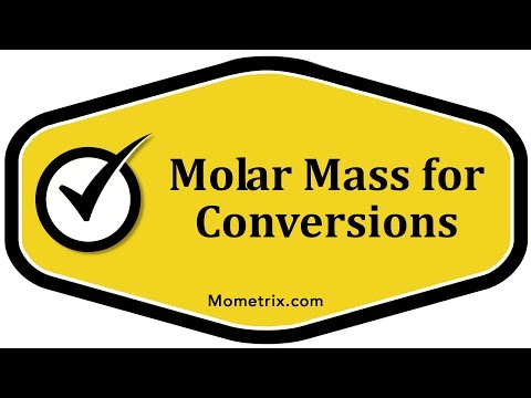 Molar Mass for Conversions