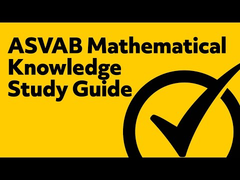 ASVAB Mathematical Knowledge Study Guide