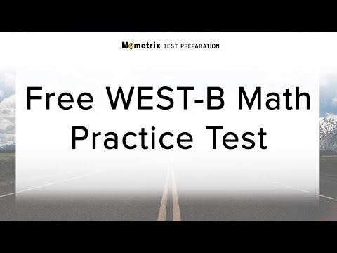 Free WEST-B Math (97) Practice Test