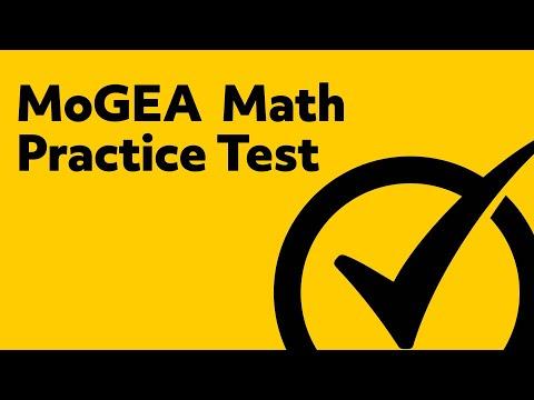 MoGEA Test - MoGEA Math (068) Practice Exam