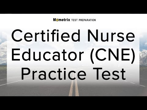 Certified Nurse Educator (CNE) Practice Test