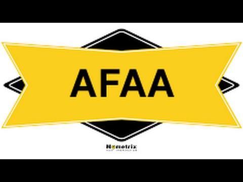Free AFAA Study Guide