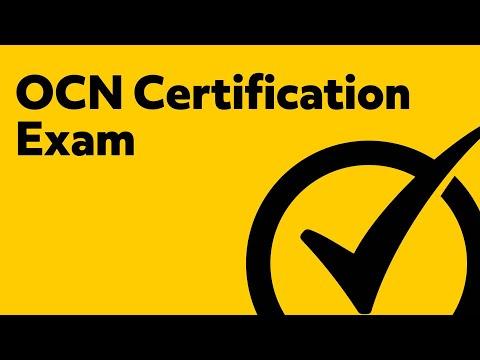 OCN Certification Exam