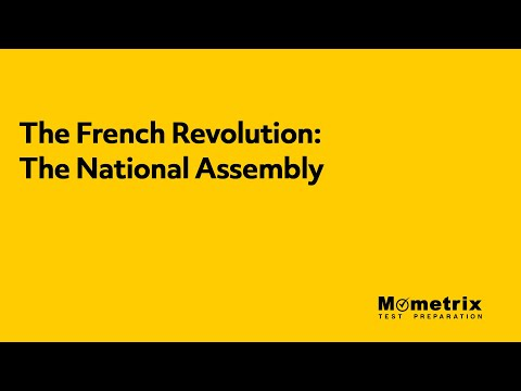 The French Revolution - The National Assembly