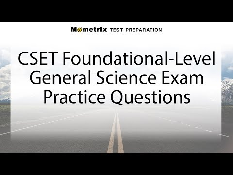 Free CSET Foundational-Level General Science Practice Test (215)