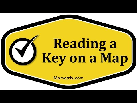 Reading a Key on a Map