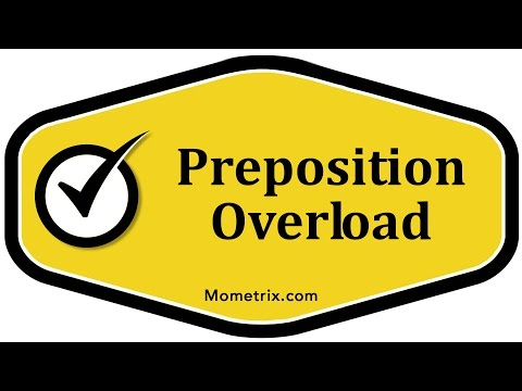 Preposition Overload