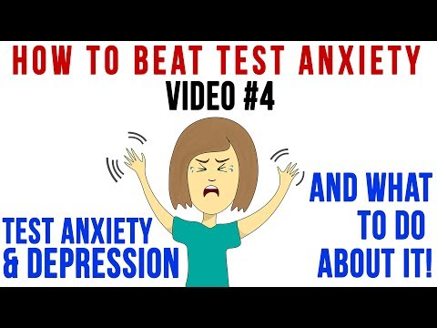Tip 4 | Test Anxiety & Depression - And what to do about it!